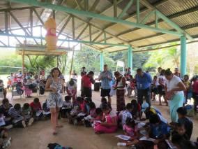 Dr. Chavez Bocas marine education